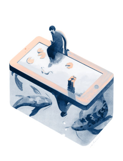 Eleni Debo Smartphone Paradox